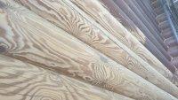 Шлифовка срубов деревянных домов и бань