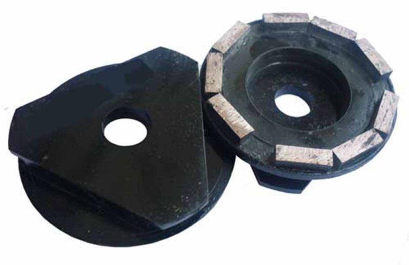 Фрезы алмазные шлифовальные по бетону для СО