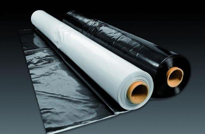Пленка полиэтиленовая в ассортименте: армированная, прозрачная, чёрная и пр...