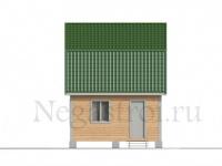 Проект дома 5 на 6 из бруса