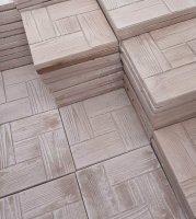 Тротуарная плитка (брусчатка) из бетона