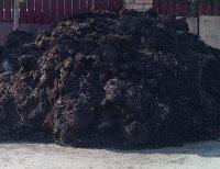 Перегной коровий и конский для удобрения посадок.