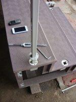 Монолитное приставное крыльцо для дачи, беседки, бани, хозяйственного блока.