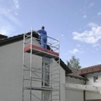 ClimTec Передвижная алюминиевая вышка-тура. Раб. высота до 7 метров. Размеры помоста 1,50 x 0,60