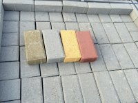 Тротуарная плитка Брусчатка 200х100х60.