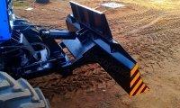 Отвал бульдозерный гидроповоротный  ОБГ-2000