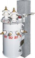 Силовые (распределительные) масляные трансформаторы серии ОМГ столбового исполнения