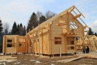 Строительство домов и бань из оцилиндрованного бревна