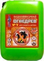 Огнедрев — огнебиозащитный высокоэффективный состав для дерева, 20кг