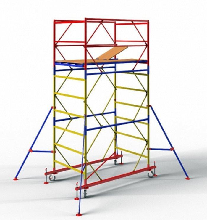 """Вышка-тура """"ОПТИМА"""" ВСР-4 (2,0х1,2), 3,9м"""