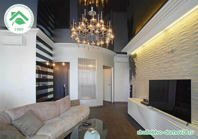 Внутренняя отделка квартир под ключ СПБ и ЛО недорого