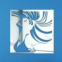 Зеркальные панели настенные