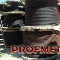 Канат стальной для кранов, талей и лебедок ГОСТ 7668-80