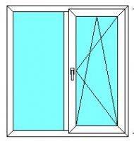 Окно 1300*1400 (32 мм)