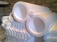 Скорлупа для труб из пенопласта, теплоизоляция для труб, трубный утеплитель пенополистирол ППС
