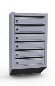 Шестисекционный ящик для почты Владимир
