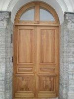 Входная историческая массив дуба, Двери ГИОП.