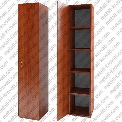 Шкаф одностворчатый для одежды с четырьмя полками из ДСП 'ШО-1П'