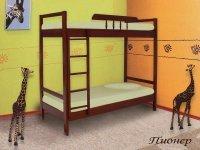 Детская двухъярусная кровать Пионер 1+1