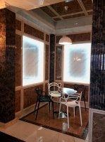 Стеновые панели из композитного мрамора KAMPANELI