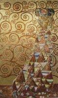 """Панно из колотой мозаики """"Картины Климта"""""""