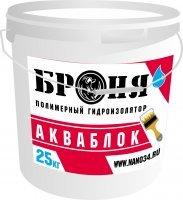Полимерный гидроизолятор БРОНЯ Акваблок