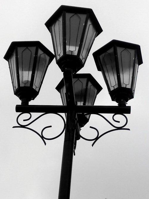 Светильник Пушкинский НТУ 05-150-413 парковый, торшерный.