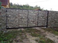 Забор под камень