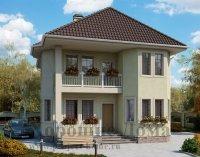 Строительство дома из газобетона 9. 2x11. 5 155. 5 кв. м.