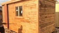 Самая дешевая бытовка деревянная эконом-вариант