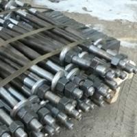Фундаментный болт ГОСТ 24379.1-80 изготовление и поставка на обьекты