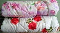 Одеяло 1,5 сп. синтепон/вата, чехол микрофибра с кантом