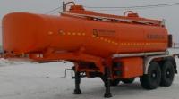 Полуприцеп цистерна нефтевоз  20 куб ППЦ-20