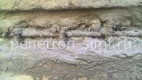 Пенекрит-гидроизоляция рабочих швов, трещин, примыканий