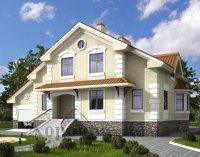 Строительство дома из газобетона 265. 8 кв. м.