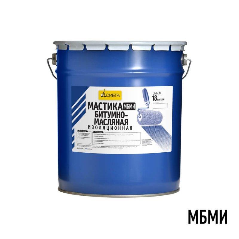 Мастика битумно-масляная изоляционная МБМи