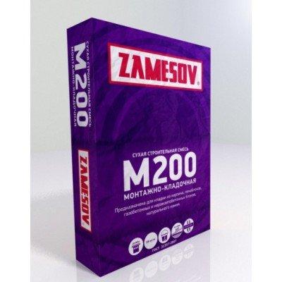 Сухая смесь М200 монтажно-кладочная ZAMESOV