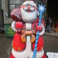 Новогодние скульптуры и фигуры для оформления города