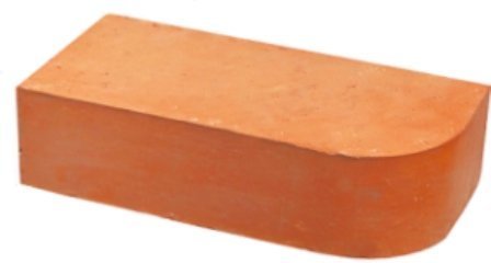 Кирпич керамический рядовой профильный полнотелый одинарный М200