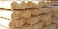 Оцилиндрованное бревно (кедр, сосна, лиственница)