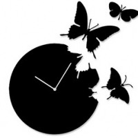 """Настенные часы """"Порхающие бабочки"""""""