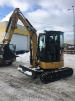 Аренда мини экскаватора Caterpillar 303.5E CR