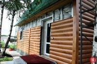 Обшивка фасадов жилых домов и офисов сайдингом