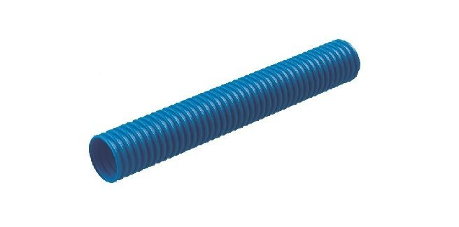 Гофротруба, FlexLight, Ø-20, наружный Ø-32, синяя, бухта 25 м