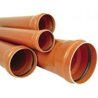 труба канализационная гладкая с раструбом