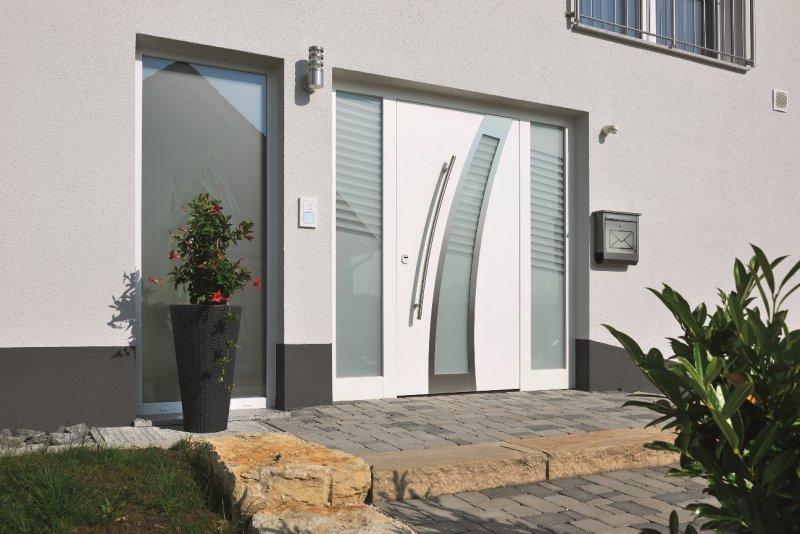 Элитная входная дверь Hormann, мотив 694 Golden Oak