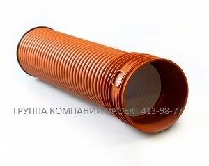 Труба гофрированная 150х6000