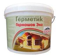 """Шовный герметик """"Гермошов Эко"""" для швов деревянного дома."""