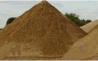 Песок строительный карьерный, намывной.
