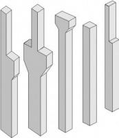 Колонны и ригели железобетонные